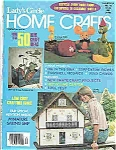 Click here to enlarge image and see more about item J4796: Lady's Circle HOME CRAFTS -copyright 1977