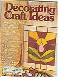 Click here to enlarge image and see more about item J4798: Decorating & Craft ideasd- March 1979