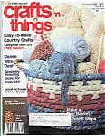 Click here to enlarge image and see more about item J4802: Crafts n things - September 1986