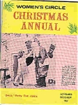 Women's Circle CHRISTMAS ANNUAL  Nov/Dec.1962