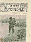 Click here to enlarge image and see more about item J4851: Harper's Young People Magazine - Sept.6, 1892