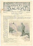 Click here to enlarge image and see more about item J4854: HARPERS YOUNG PEOPLE - January 24, 1893