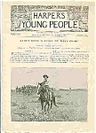 Click here to enlarge image and see more about item J4855: Harper's Young People - November 7, 1893
