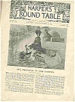 Click here to enlarge image and see more about item J4863: Harpers Round Table - October 20, 1896
