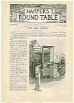 Click here to enlarge image and see more about item J4865: Harper's Round Table - October 13, 1896