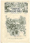 Click here to enlarge image and see more about item J4867: Harper's Round Table -  November 17, 1896