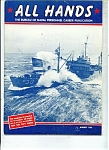 Click here to enlarge image and see more about item J4947a: US Navy - All Hands magazine - August 1966