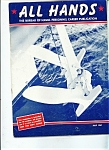 Click here to enlarge image and see more about item J4949a: US Navy -  All Hands Magazine