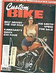 Click here to enlarge image and see more about item J5014: Custom Bike - August 1977