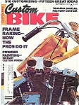 Custom Bike - September 1978