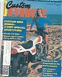 Click here to enlarge image and see more about item J5016: Custom Bike - November 1976