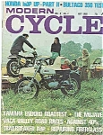 Click here to enlarge image and see more about item J5019: Modern Cycle - July 1968