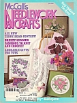 Click here to enlarge image and see more about item J5022E: McCall's Needlework & crafts - June 1988