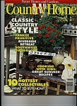 Country Home Magazine - August 1995