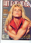 Hit Parader  Magazine -  August 1983 VAN HALEN Trouble