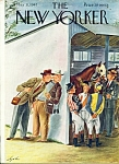 The New Yorker magazine May 31, 1947 ALAJALOV COVER