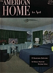 American Home for April  - April 1952