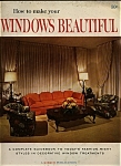 Click here to enlarge image and see more about item J5333: Windows Beautiful -   Copyright 1965