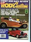 Rod & Custom Magazine  No. 5 - Copyright 1978