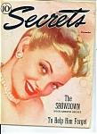 Click here to enlarge image and see more about item J5435a: Secrets magazine - December 1945