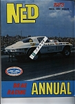 Click here to enlarge image and see more about item J5449: NED Annual - drag racing annual 1973