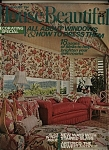 Click here to enlarge image and see more about item J5482: House Beautiful - August  1973