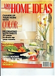Click here to enlarge image and see more about item J5504a: 1,001 Home Ideas magazine -  June 1990