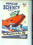 Click here to enlarge image and see more about item J5607a: Popular Science  - April 1939