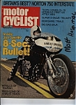Click here to enlarge image and see more about item J5612: Motor  Cyclist - September 1972