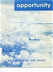 Click here to enlarge image and see more about item J5711a: United States Air Force opportunity magazine - 8-20-52