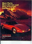 Eckler's Corvette Parts - 1985 catalog