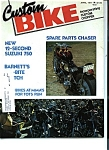 Custom Bike - April 1977