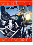 Click here to enlarge image and see more about item J5720a: Harley Davidson Genuine Catalog 36pg  - 1987