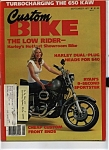Custom Bike - September 1977