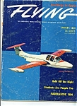 Click here to enlarge image and see more about item J5730a: Flying magazine - January 1956