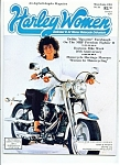 Click here to enlarge image and see more about item J5740a: Harley Women magazine- May/June 1991