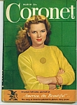 Click to view larger image of Coronet magazine -  March 1946 (Image1)
