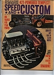 Speed and custom  - October  1963