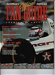 Click here to enlarge image and see more about item J5783: Official Fan Guide IndyCar =1994