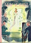 The New Yorker magazine - Sept. 21, 1947 DOVE COVER
