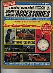 Auto world sports car and racing accessories  - 1972