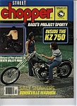 Click here to enlarge image and see more about item J6080: Street Chopper - February 1978