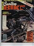 Custom Bike - August 1978