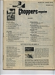 Click here to enlarge image and see more about item J6167: Choppers Magazine - December 1972