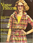 Vogue patterns - JulyAugust 1976