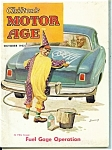 Click here to enlarge image and see more about item J6259a: Chilton's Motor Age -  October 1952