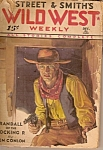 Street & Smith's WILD WEST WEEKLY -  Dec. 31, 1932