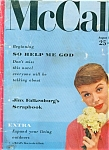 Click here to enlarge image and see more about item J6266a: McCall's magazine - August 1955