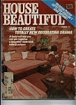 Click here to enlarge image and see more about item J6275: House Beautiful - November 1977