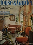 Click here to enlarge image and see more about item J6283: House & Garden - August 1969